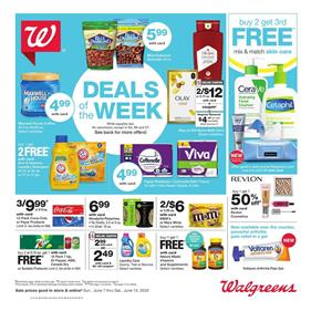 Walgreens Weekly Ad Deals Jun 7 - 13, 2020