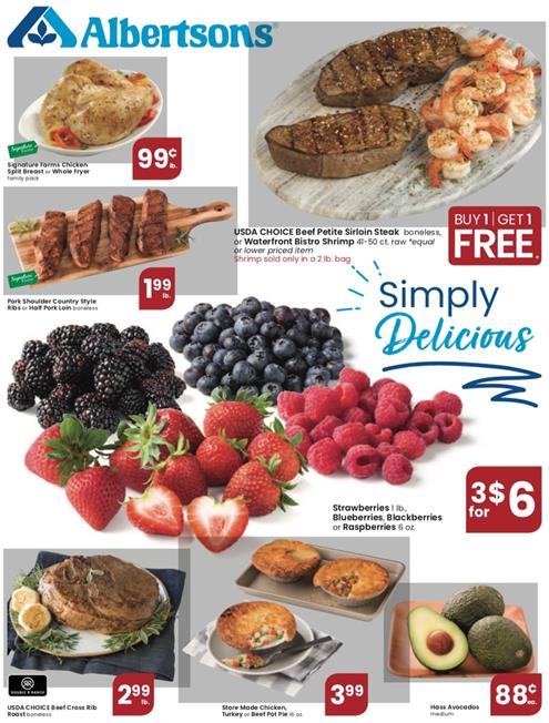 Albertsons Weekly Ad Preview Jul 22 - 28, 2020