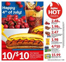 HyVee 4th of July Sale Weekly Ad Jul 1 7 2020
