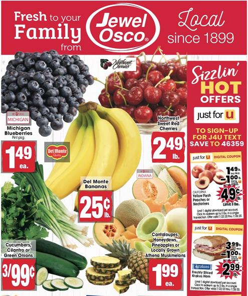 Jewel-Osco Weekly Ad Preview Jul 22 - 28, 2020