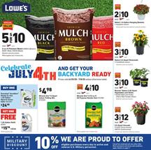 Lowe's 4th of July Sale 2020 | Grills and Backyard