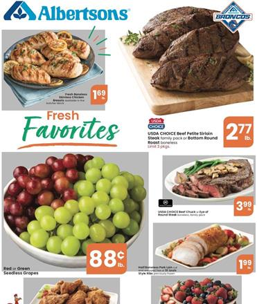 Albertsons Weekly Ad Preview Aug 26 - Sep 1, 2020