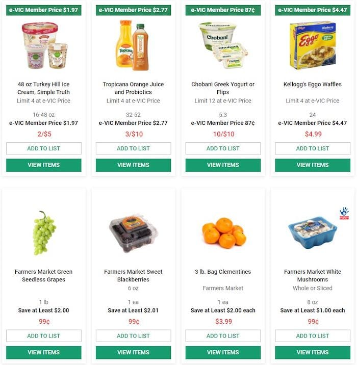 Harris Teeter Ad e Vic Member Sale Aug 26 Sep 1 2020