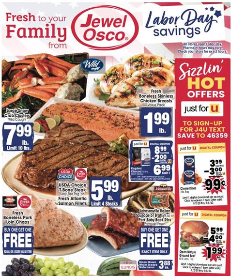 Jewel Osco Weekly Ad Preview Sep 2 8 2020
