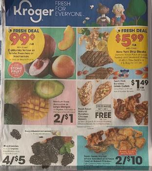 Kroger Weekly Ad Preview Aug 12 18 2020