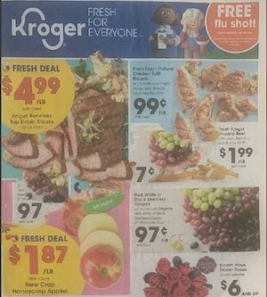 Kroger Weekly Ad Preview Aug 19 25 2020