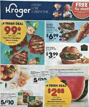 Kroger Weekly Ad Preview Aug 26 - Sep 1, 2020