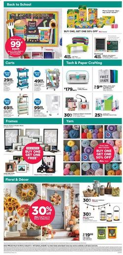 Michaels Weekly Ad Pencil Deals Aug 9 15 2020