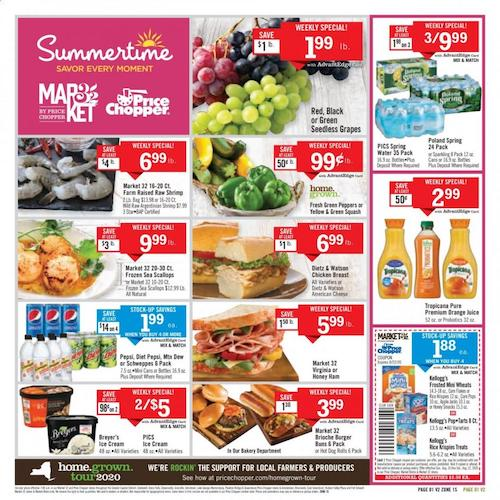 Price Chopper Ad Weekly Specials Aug 16 22 2020
