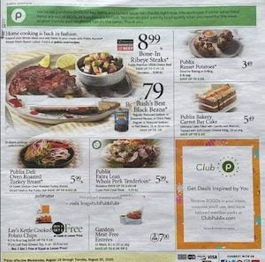 Publix Weekly Ad Preview Aug 19 25