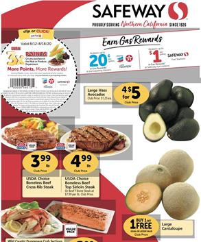 Safeway Weekly Ad Preview Aug 12 18 2020