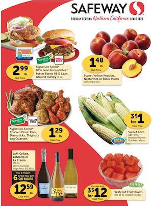 Safeway Weekly Ad Preview Aug 19 25 2020