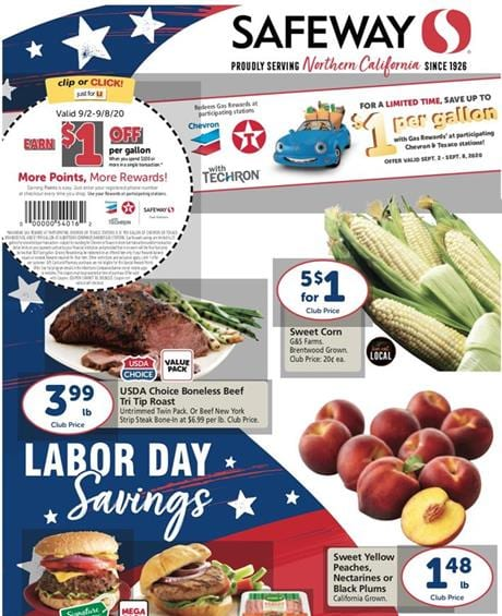 Safeway Weekly Ad Preview Sep 2 8 2020