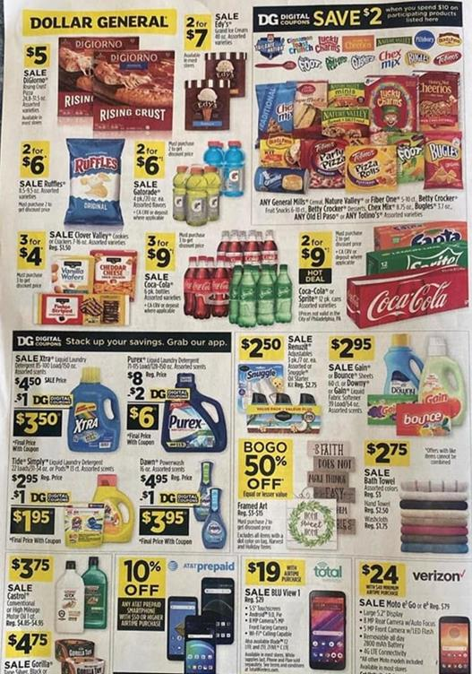 Dollar General Ad Sep 27 - Oct 3, 2020
