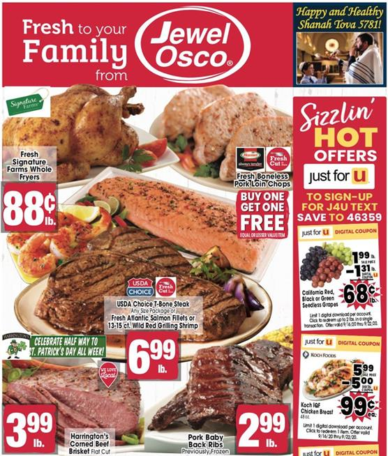 Jewel-Osco Weekly Ad Preview Sep 16 - 22, 2020