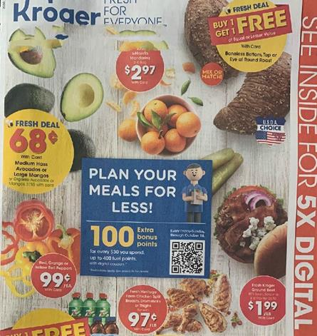 Kroger Weekly Ad Preview Sep 30 - Oct 6, 2020