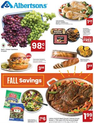 Albertons Weekly Ad Oct 7 - 13, 2020
