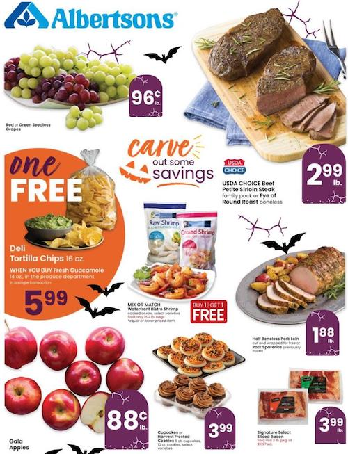 Albertsons Weekly Ad Oct 28 - Nov 3, 2020