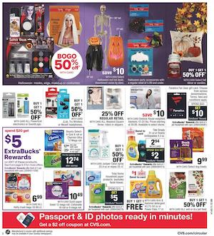 CVS Weekly Ad Oct 11 - 17, 2020