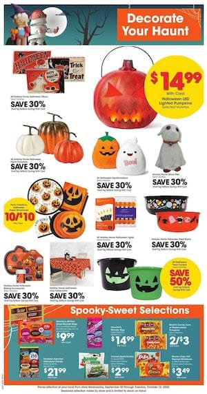 Fry's Weekly Ad Oct 7 - 13, 2020
