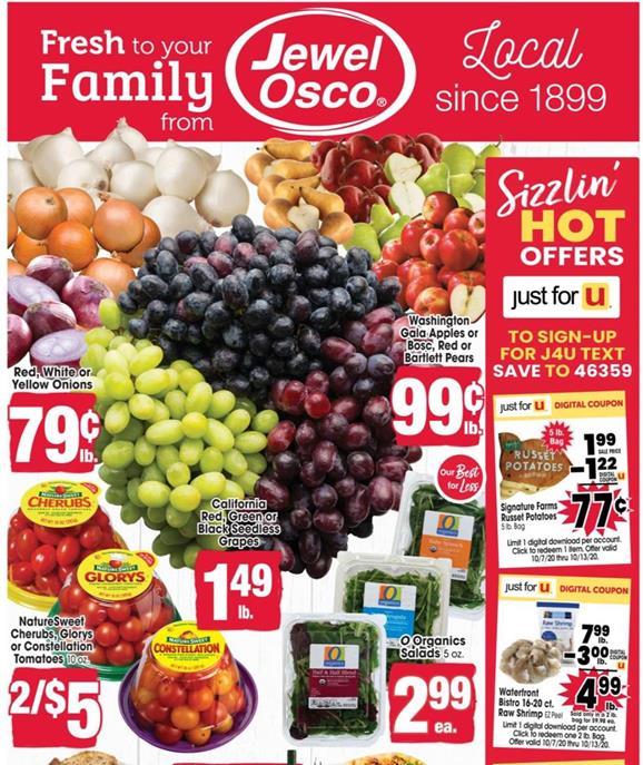 Jewel-Osco Weekly Ad Preview Oct 7 - 13, 2020