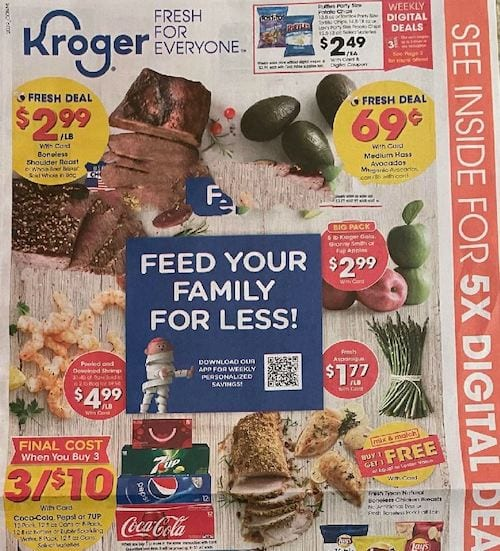 Kroger Weekly Ad Oct 28 - Nov 3, 2020