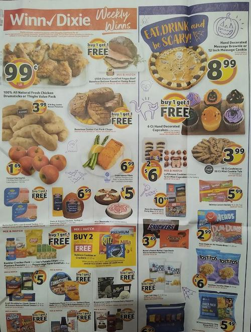 Winn Dixie Weekly Ad Oct 28 - Nov 4, 2020