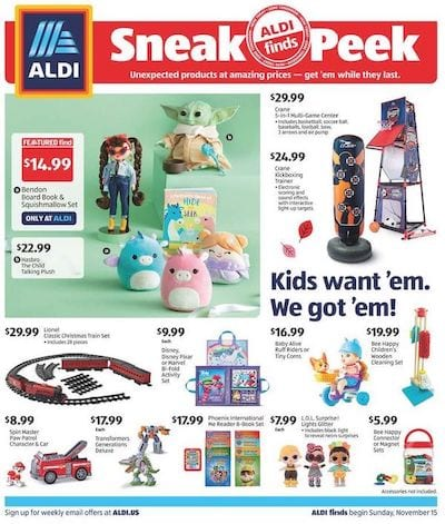 ALDI Ad In-Store Nov 15 - 21, 2020