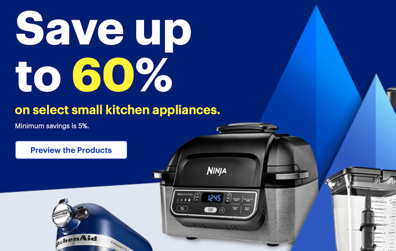 Best Buy Black Friday Deal Save 60% off Kitchen Appliances