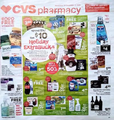 CVS Weekly Ad Preview Nov 29 - Dec 5, 2020