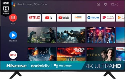 Hisense - 65 Class H6510G Series LED 4K UHD Smart Android TV