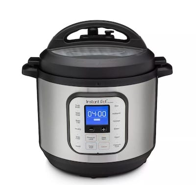 Instant Pot Duo Nova 8qt 7-in-1 One-Touch Multi-Use Electric Pressure Cooker