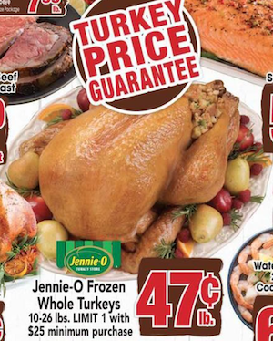 Jewel-Osco Turkey Deal