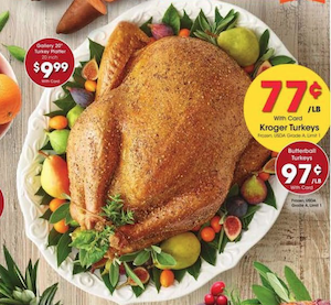 Kroger Thanksgiving Turkey Deal