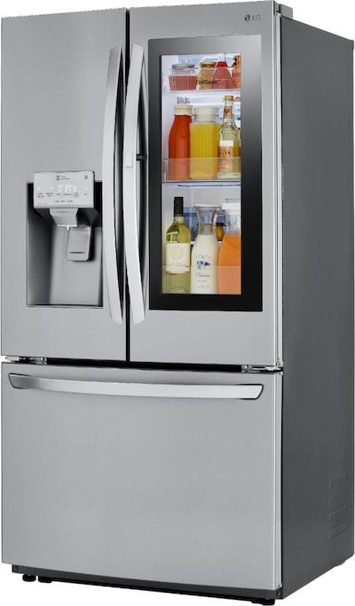 LG - 26 Cu. Ft. French InstaView Door-in-Door Refrigerator with Wifi