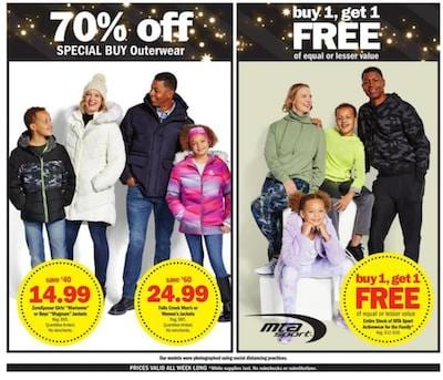 Meijer Black Friday Ad Clothing Deals