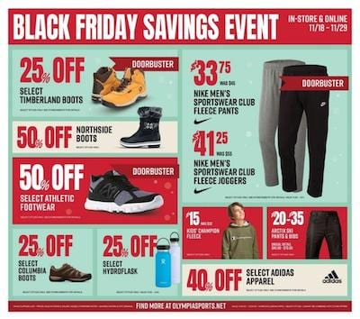 Olympia Sports Black Friday Sneaker Deals 2020