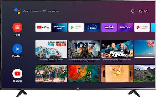TCL - 50 Class 4 Series LED 4K UHD Smart Android TV