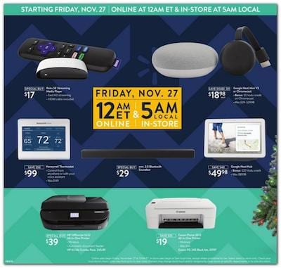 Walmart Black Friday Ad 2020