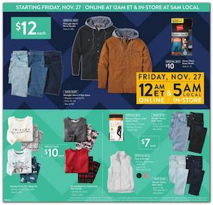 Walmart Black Friday Ad 2020 Coat Deals