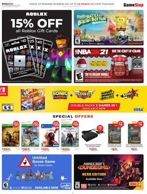 Gamestop Weekly Ad Dec 20 - 26, 2020