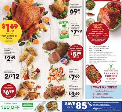 Kroger Weekly Ad Christmas Dec 16 - 24, 2020