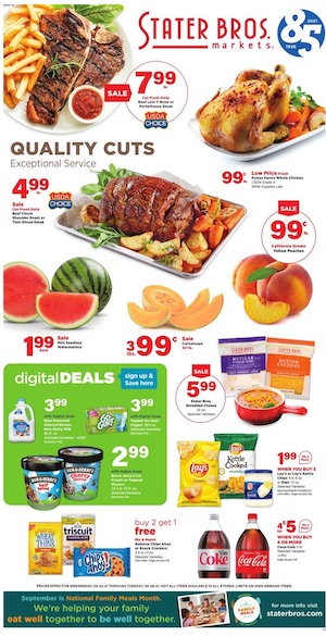Stater Bros Ad Sep 22 - 28, 2021
