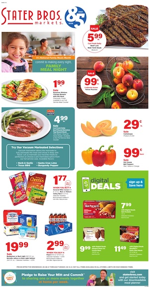 Stater Bros Ad Sep 8 - 14, 2021