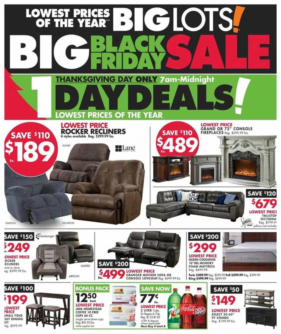Big Lots black friday ad