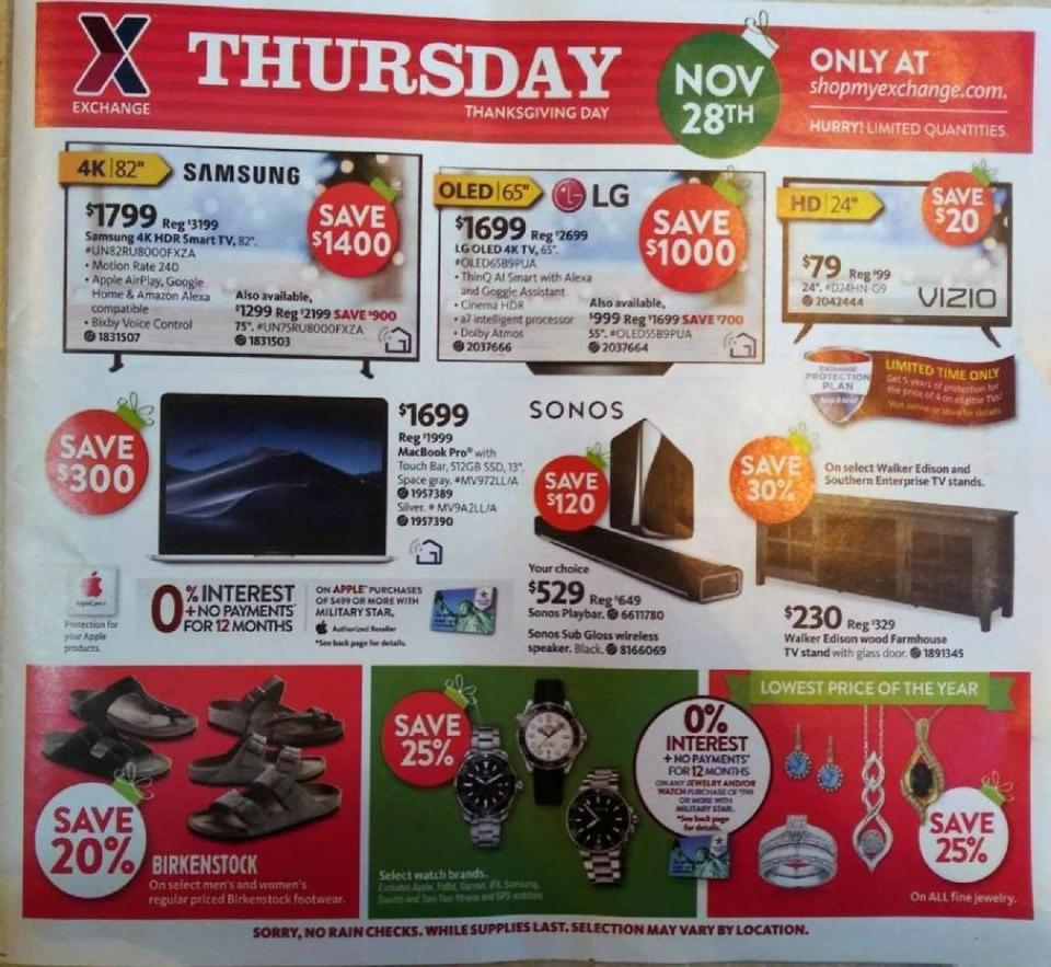 Aafes black friday ad
