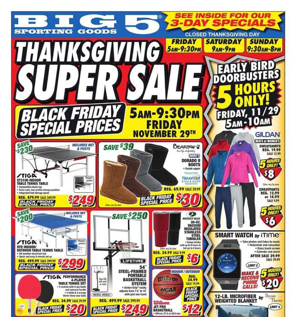 Big 5 black friday ad