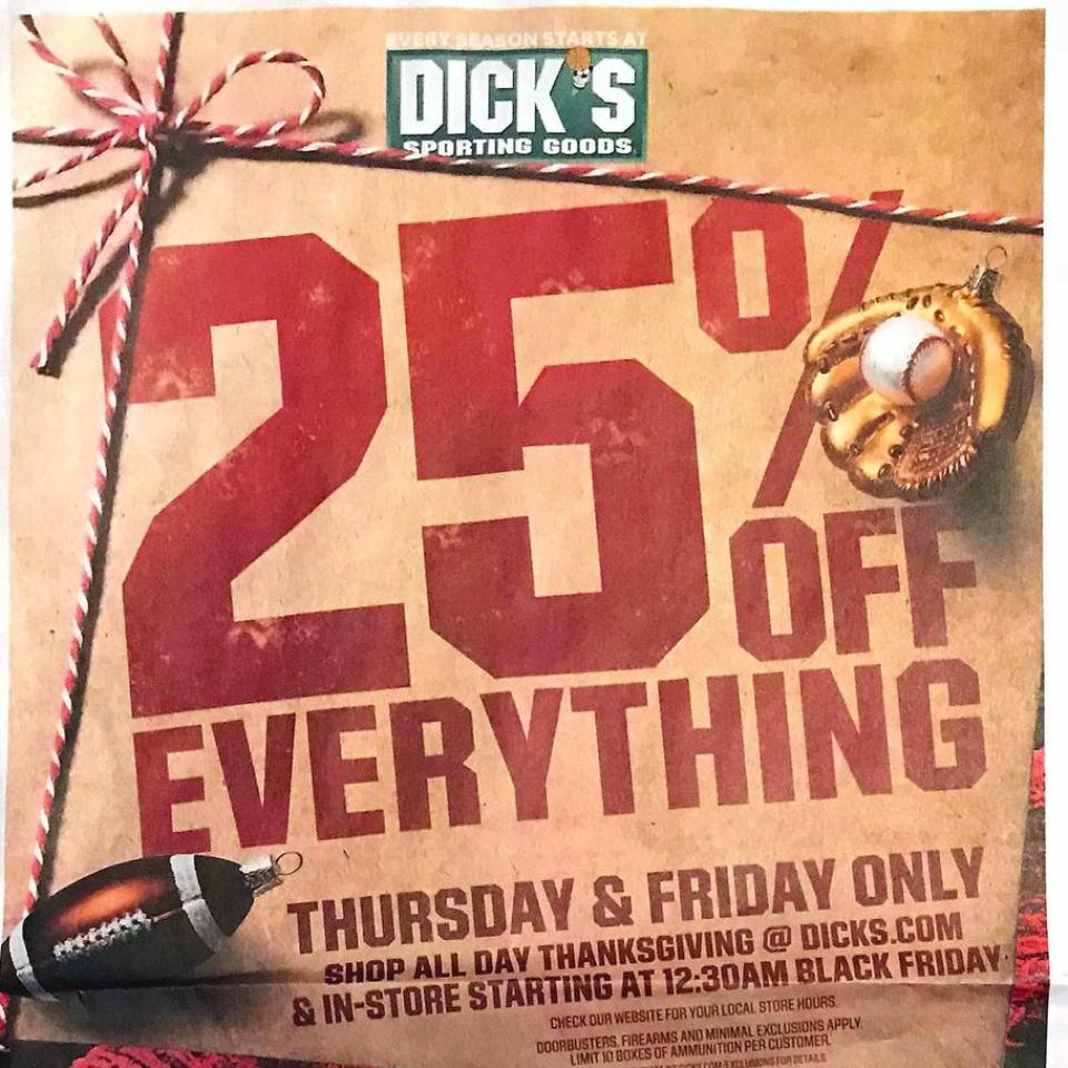 Dick's Sporting Goodsblack friday ad