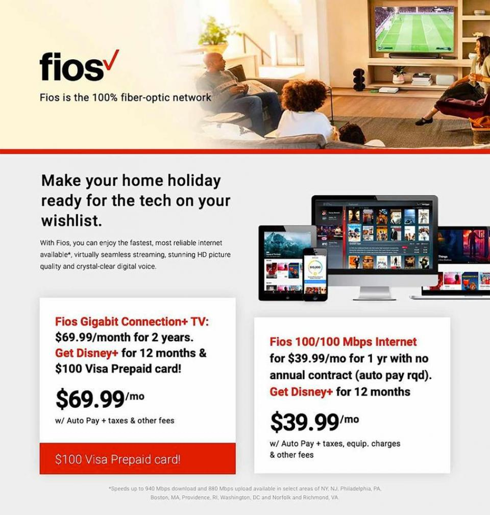 Fios black friday ad
