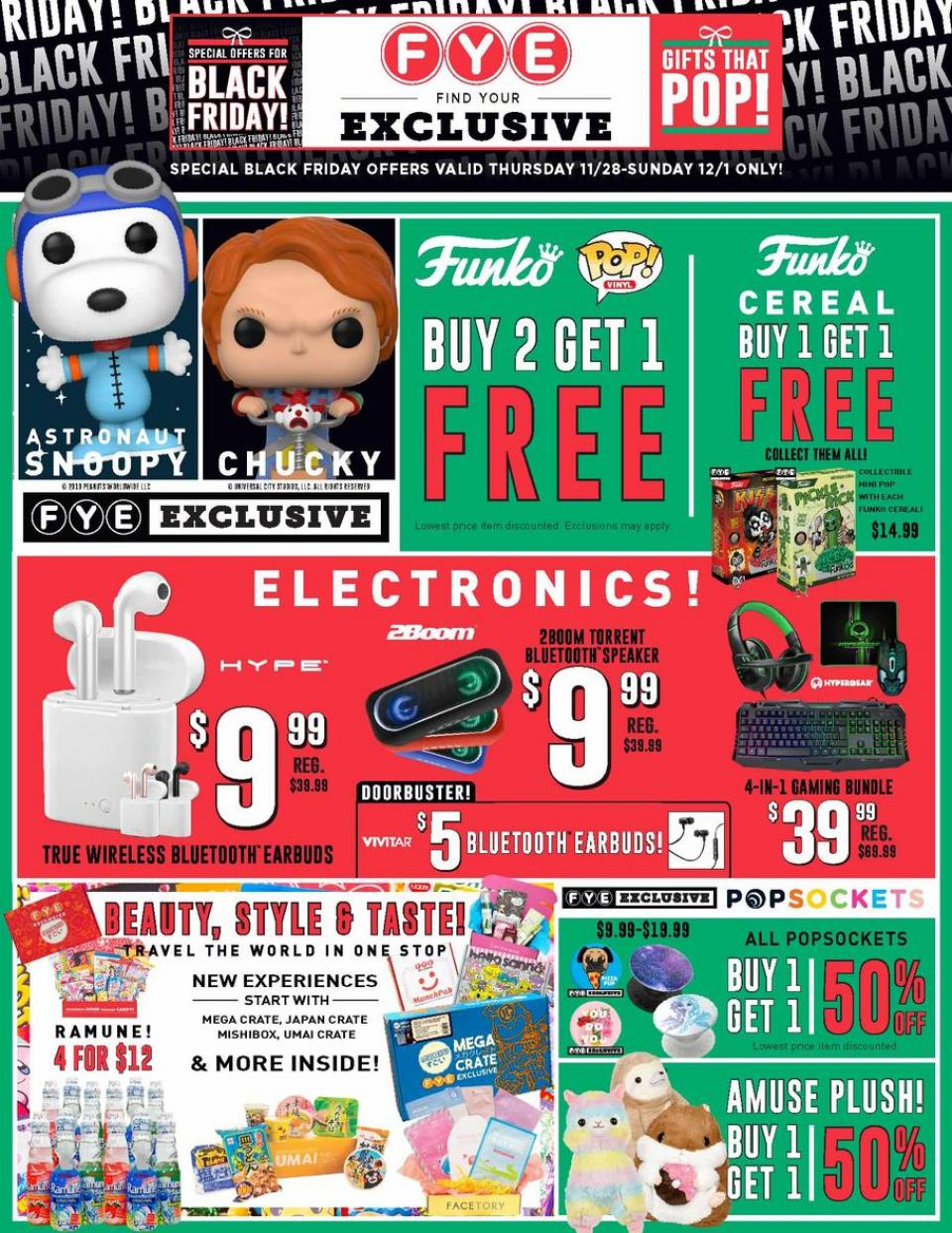 Fye black friday ad